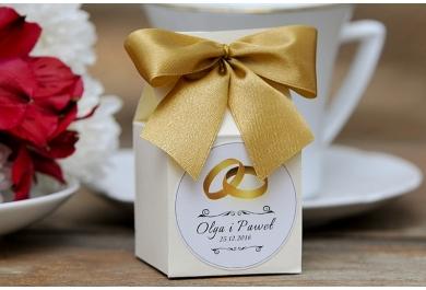 Pudełka wysokie na wesele