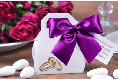 Kuferki na ślub, wesele + migdały