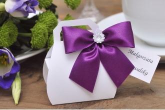 Kuferki z cyrkonią - podarunek dla gości z okazji chrztu, wesela, urodzin