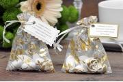 Woreczki z migdałami na ślub, wesele