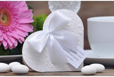 Pudełeczka na uroczystość ślubną