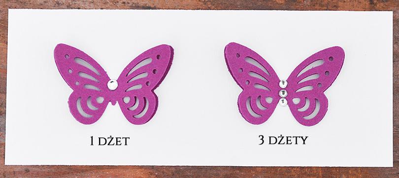 Wzór motyla 3d