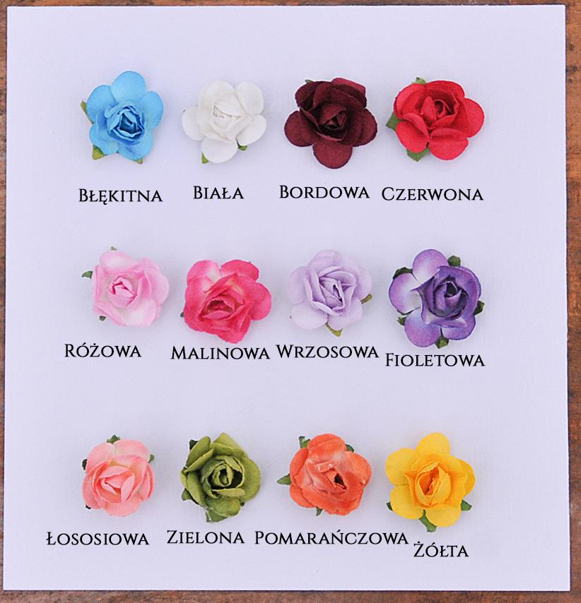 Kolory różyczek